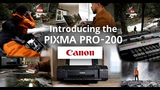 Bryton Wilson - A Photographer's Story of the Canon PIXMA PRO-200