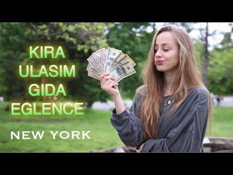 NEW YORK'TA 1 AYLIK YAŞAM MASRAFI NE KADAR?