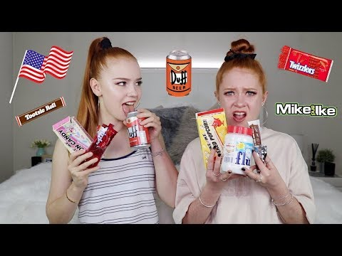 AUSTRALIANS TRY AMERICAN CANDY!! ♡