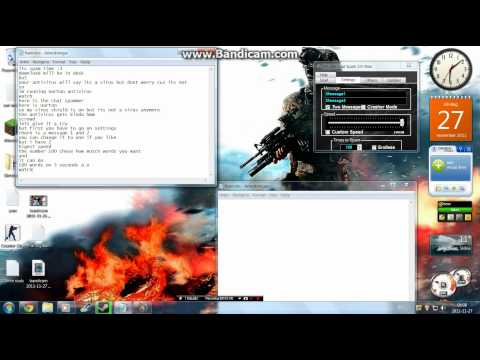 DeLuXe chat spammer Free download
