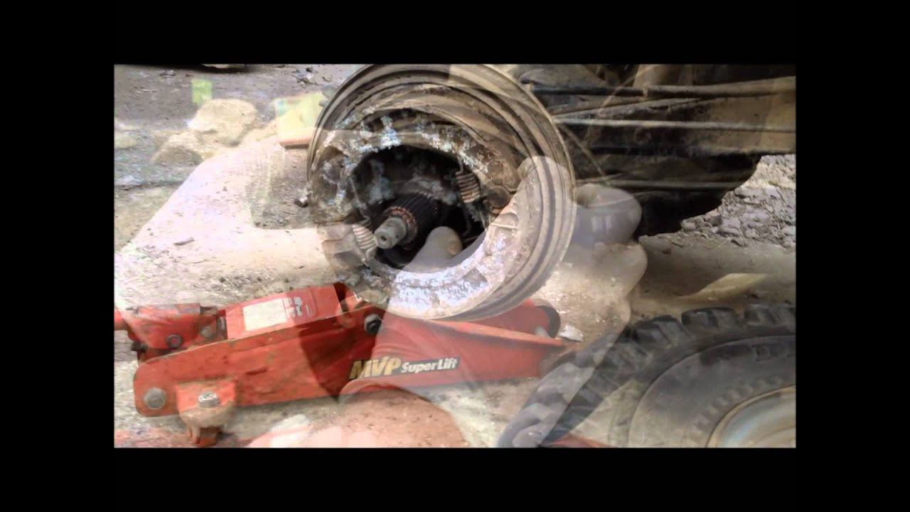 hight resolution of back break replacement on yamaha timberwolf 250cc tutorial