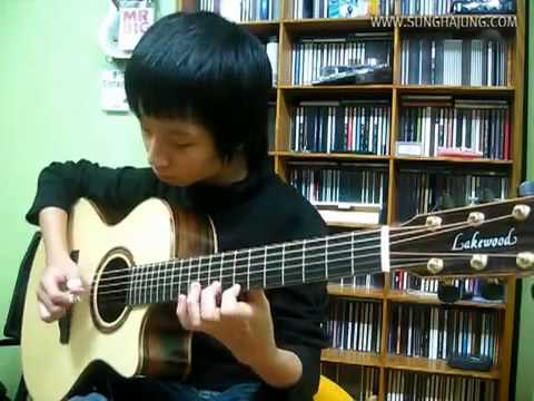 Christmas Carol) Jingle Bells   Sungha Jung Acoustic Tabs Guitar Pro 6