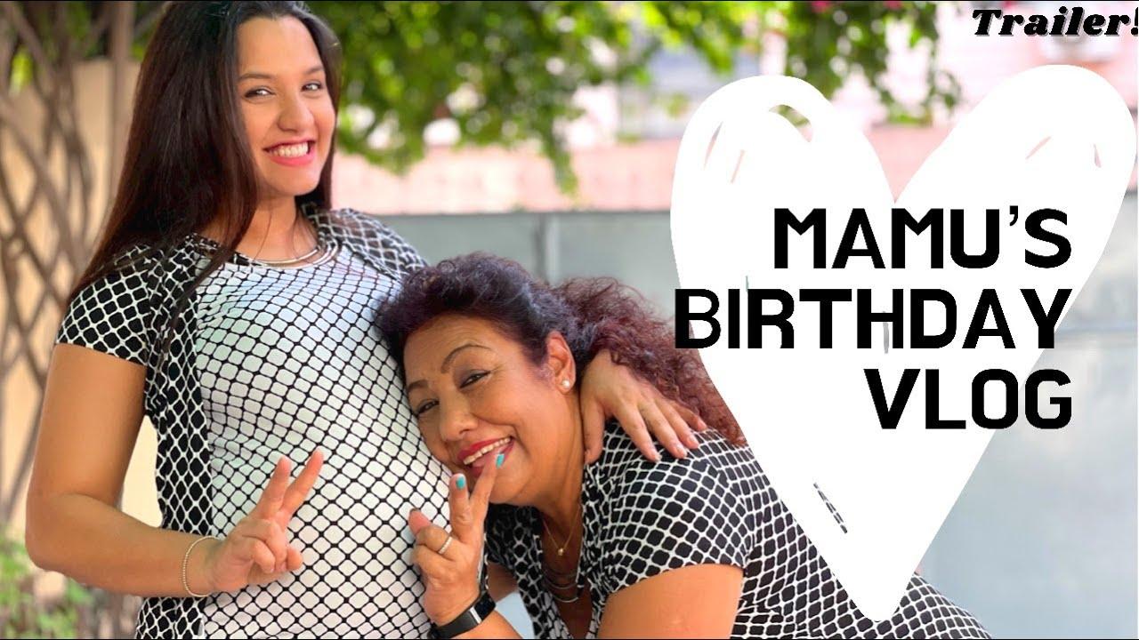 Mamu's Birthday Vlog | बजै भए पछी बुडी भई हाल्यो नि | नाख आयुषको ज़ाओस | खट्ने प्रियंका जस्तो होस |