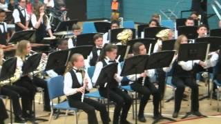 Hildebrandt intermediate school 2014 symphonic band  ghost in the graveyard