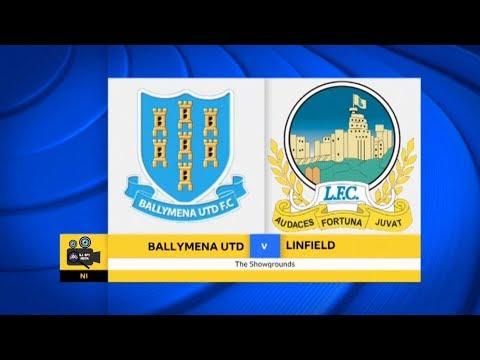 Ballymena Utd Vs Linfield - 10th November 2017