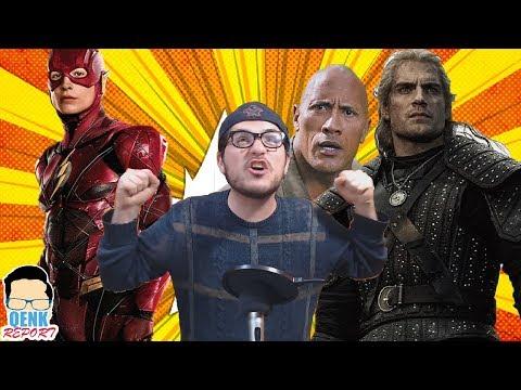 "Flash tendrá película con director de ""IT"" - The Witcher luce maravilloso   QR"