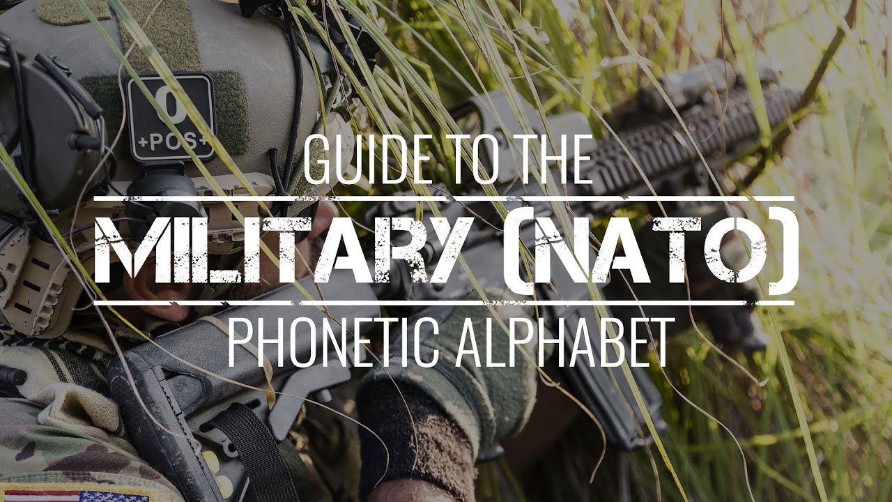 The military phonetic alphabet youtube the military phonetic alphabet altavistaventures Images