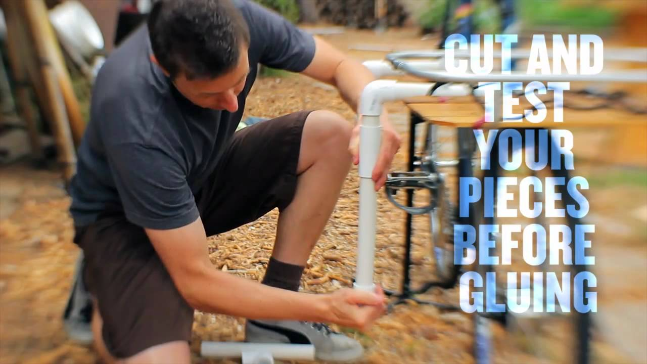 DIY Surfboard Bike Rack   Surf Sufficient   YouTube
