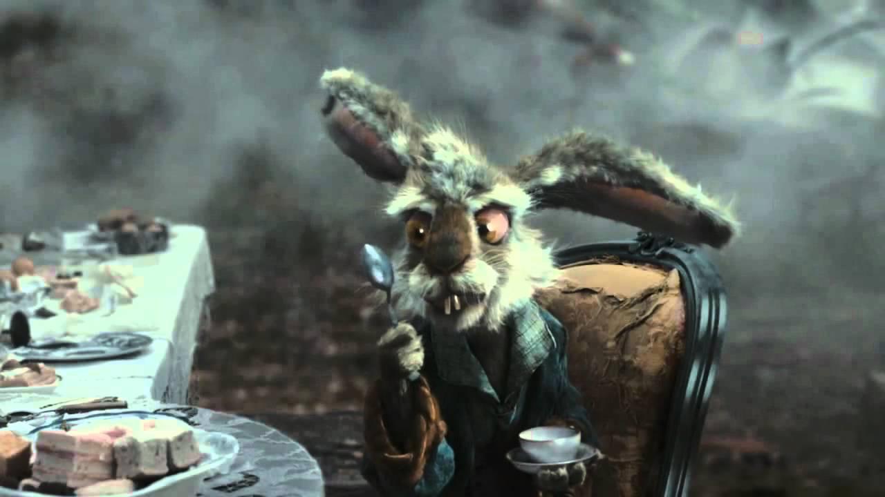 March Hare Alice Wonderland Tim Burton