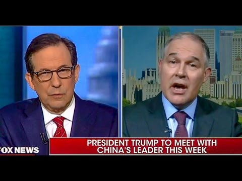 EPA Head Keeps Spitting In The Face Of Science