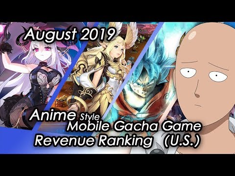 (U.S) August 2019 Anime Gacha Mobile Game Revenue Review