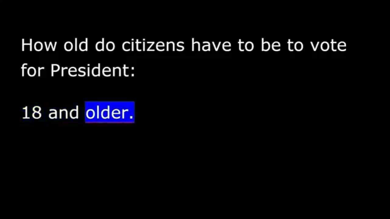 United States Citizenship Test Civics Questions To - How old is united states