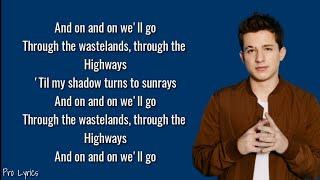 Charlie Puth - We Will Go (Lyrics)