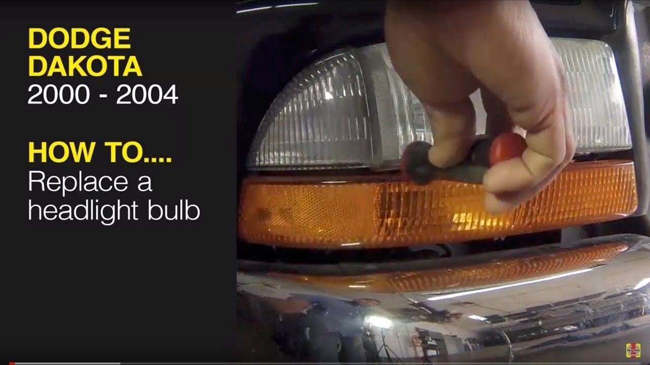 Dodge Dakota 2000 2004 Dodge Durango 2000 2003 How To Replace The Headlights Haynes Ma Youtube