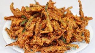 कुरकुरी भिन्डी सबसे आसान तरीके और इन खास टिप्स से बनायेगे तो हमेशा क्रिस्पी बनेगी|Kurkuri Bhindi Rec