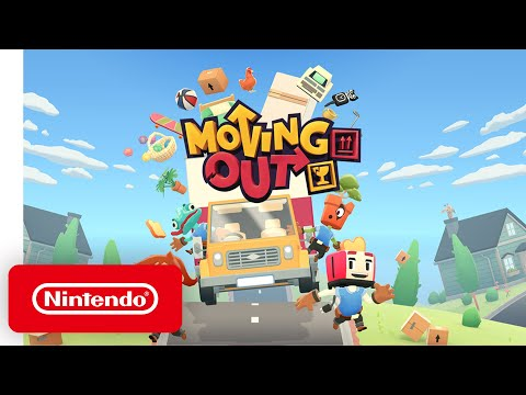Moving Out - Announcement Trailer - Nintendo Switch