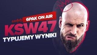 6PAK ON AIR - Podcast 002 - KSW 47 Goście - Filip Wolański , Trenujący Tata