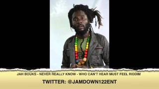 Jah Bouks -- Never Really Know [Who Can