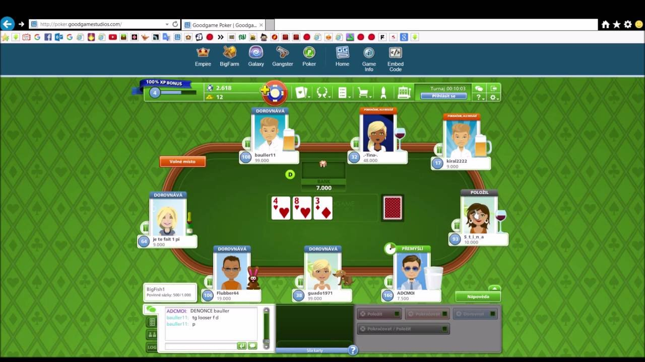 Goodgame Poker Hack