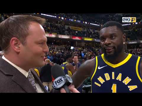 """Lance Stephenson on going up against LeBron James: """"I just tried to get into him a little bit"""""""