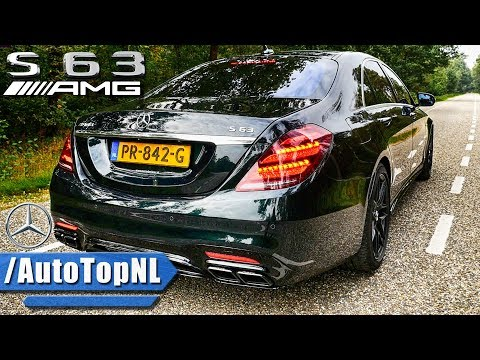 2018 Mercedes AMG S63 LOOKS SOUND & TOP SPEED DRIVE by AutoTopNL