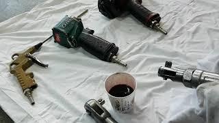 air tool use…