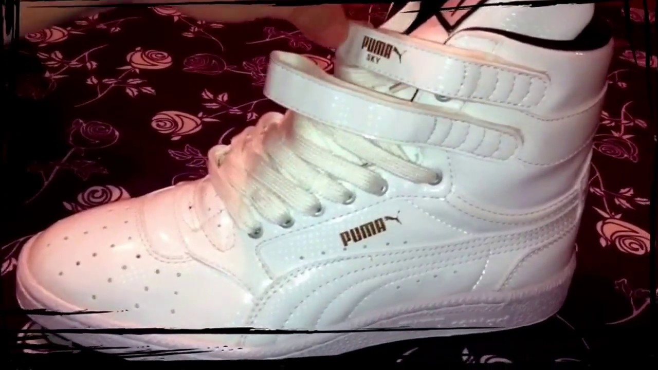 63e668a6298d PUMA sky hi 2 white - YouTube