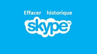 Comment effacer l'historique de Skype ? (Supprimer conversation Skype)