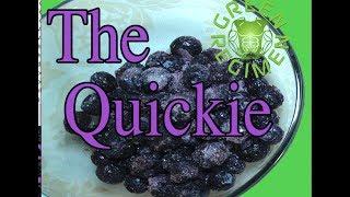 How To Make A Frozen Blueberry Green Smoothie - Green Regimen