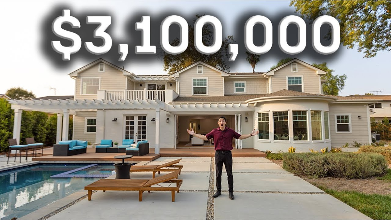 Touring the PERFECT Family Home in Los Angeles for $3,100,000!