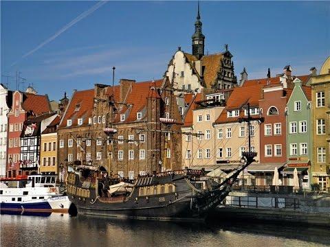 Weekend w niesamowity Gdańsku,  Weekend in Gdansk, Poland, na Bałtyku, Тур в Гданск
