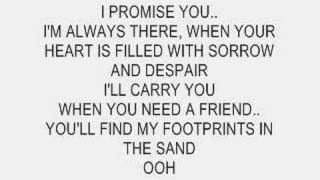 Leona Lewis - Footprints In The Sand (Instrumental with lyrics)