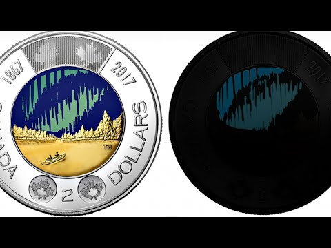 New Canadian $2 Coin Glows In The Dark
