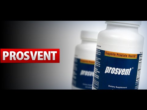 Prosvent Natural Prostate Health Supplement (English)