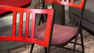 Innobella Destiny Mission Back Folding Chair - 4 Pack - Product Review Video