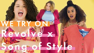 Aimee Song's Song of Style x Revolve Collab Will Make Your Butt Look G🍑🍑D | Actual People Try On