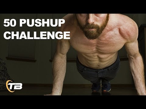 GH-50 Push Up Challenge Increase Upper Body Strength & Stamina