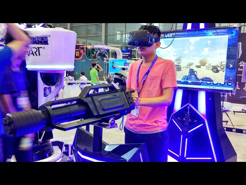ShenZhen Virtual Reality and Augmented Reality Gaming Exhibition 🎮