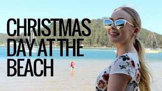 Christmas Day at the beach!