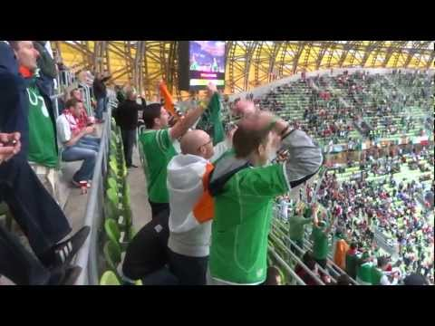 Euro 2012 PGE ARENA Gdańsk Hiszpania:Irlandia 4:0 Cz.1 Filmu