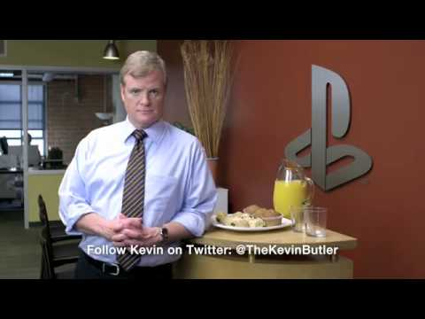 Kevin Butler Makes Fun of Microsoft Xbox 360 ( Kinect ) Natal - Sony PlayStation Move Commercial
