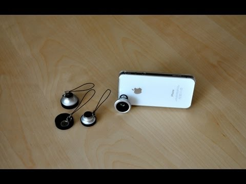 Fisheye, Macro, Wide Angle & Telephoto Phone Lenses For IPhone