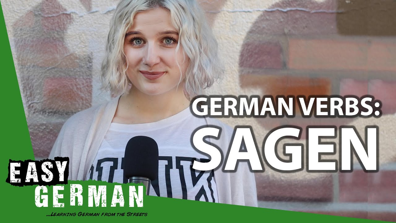 German Verbs: Sagen | Super Easy German 145