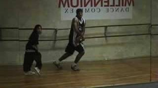 hip hop dance routine