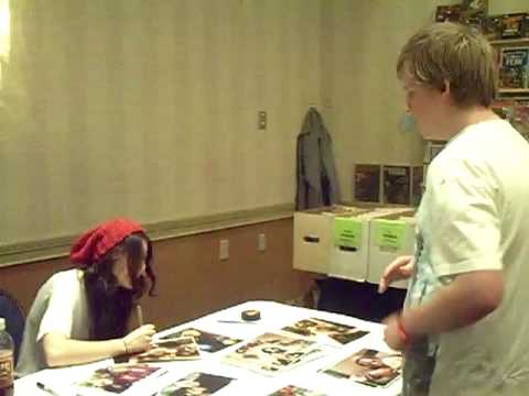 Me meeting Scout TaylorCompton!