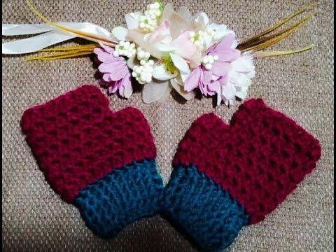 Crochet Mitaines Enfant 6 à 8 Ans Facile Et Rapide Crocheteu