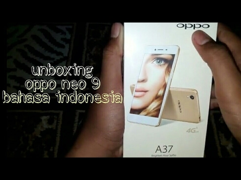 Unboxing oppo neo 9 bahasa indonesia