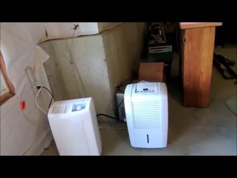 dehumidifier hook up to sump pump