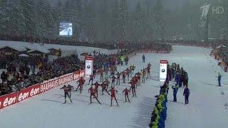 Биатлонист Евгений Гараничев завоевал «бронзу» на пятом этапе Кубка мира в Германии.