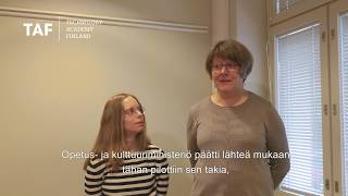 Millennium Docs Opetus- ja Kulttuuriministeriössä.